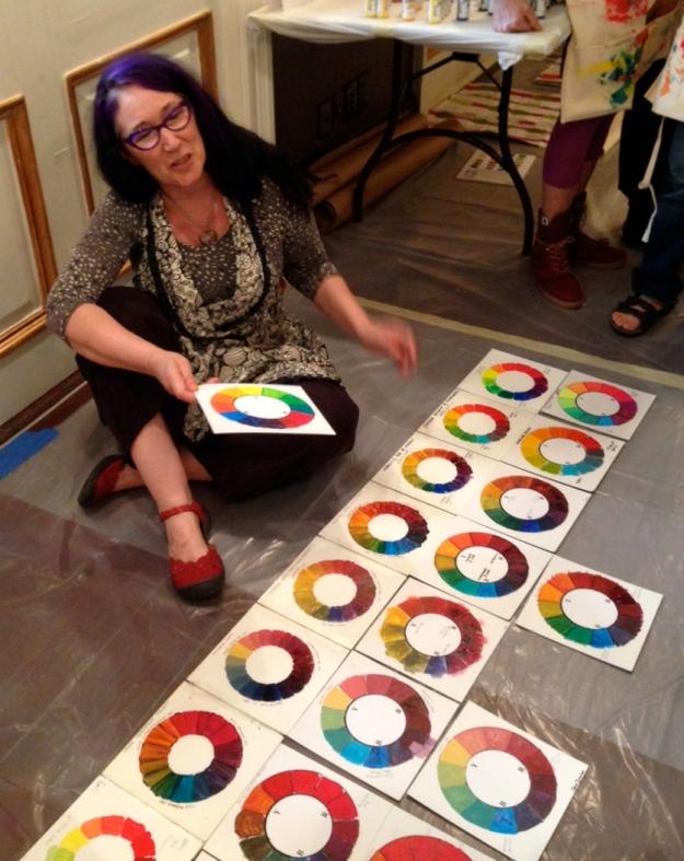 Artist and Educator Patti Brady